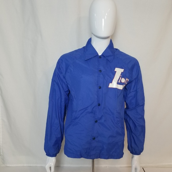 crazy price boy cheap price VINTAGE Blue Champion Windbreaker Size Medium